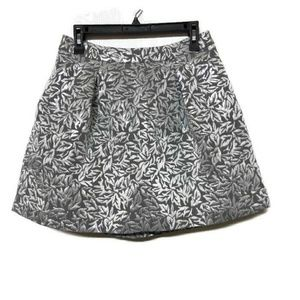 Behnaz Sarafpour for Target Silver Metallic Skirt